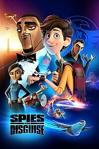 Plakat: Spies in Disguise