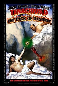 Poster: Tenacious D in The Pick of Destiny
