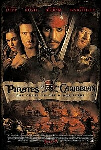 Poster: Pirates of the Caribbean: The Curse of the Black Pearl