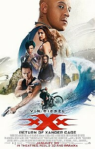 Poster: xXx: Return of Xander Cage