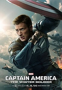 Plakat: Captain America: The Winter Soldier