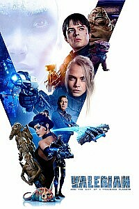 Poster: Valerian and the City of a Thousand Planets