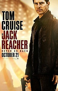 Poster: Jack Reacher: Never Go Back